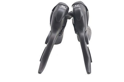 Micronew Double 9 Speed Road Bike Shifters 2x9s for Shimano ST-3500 Sora Shifter/Brake Lever STI Set (2x9 Speed)