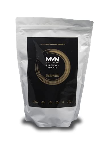 MVN Supplements Original Pure Isolate Whey Protein 907g (Double Chocolate Brownie)