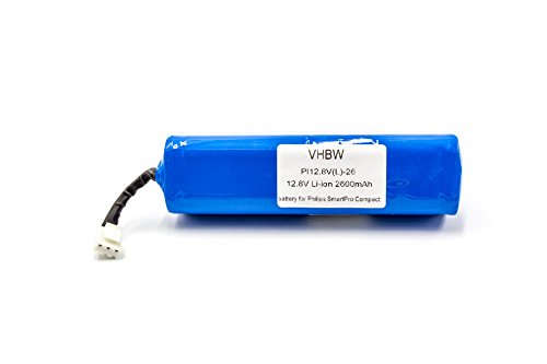 vhbw Li-Ion batería 2600mAh (12.8V) para robot autónomo de...