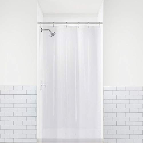 LiBa PEVA 8G Small Bathroom Shower Stall Curtain Liner, 36'...