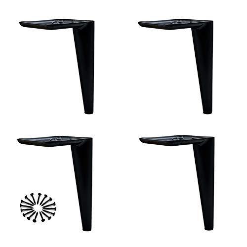 CZZZ Patas de Muebles de Acero Inoxidable, Patas de Soporte para Mesa de Centro DIY, Patas de sofá reemplazables Patas de gabinete de TV | Accesorios de Muebles de Hardware (4 Piezas)