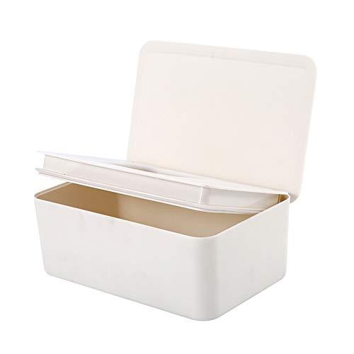 Wizsoula Baby Nappy Feuchttücher Spender Box, Hygienic Wet Tissue Box, Windel Feuchttücher Etui mit Deckel hält Feuchttücher frisch, Gewebe Aufbewahrung Box für Heim Büro Verwendung