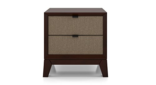 Urban Ladder Martino Upholstered Bedside Table