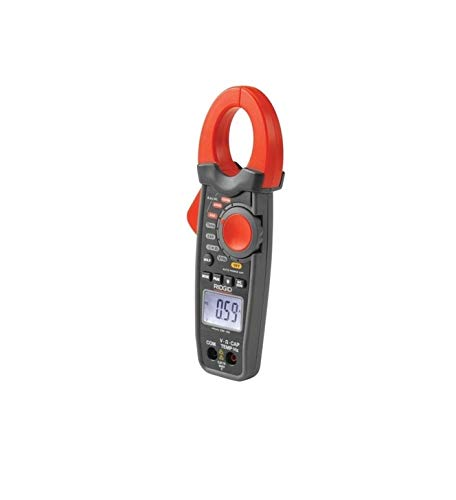 RIDGID 37428 micro CM-100 Digital-Messzange; Digitales Zangenmessgerät, Multimeter, Strommesszange, True RMS und AutoRanging Multimeter