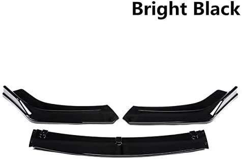 Bester der welt YXYNB 3-teilige Kohlefaser / schwarz, untere vordere Stoßstange, Lippendiffusor, Spoiler, Bodykit…