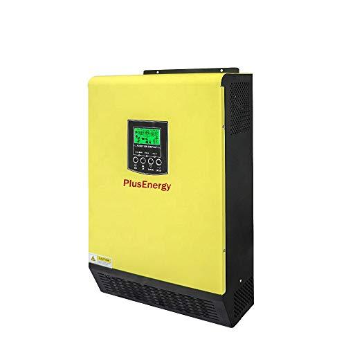 Inverter Solar 5,5 kW 48 V Hybrid Regler MPPT 90 A mit maximalem Solarpanel 500 V DC Ladegerät 60 A
