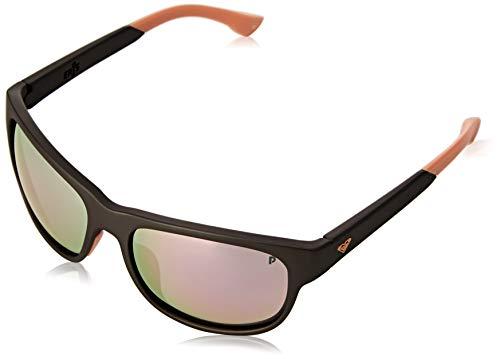 Roxy Damen Sonnenbrille Eris - polarisierte Sonnenbrille für Frauen, grey/orange/grey - combo, 1SZ, ERJEY03085