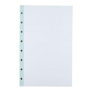 Office by Martha Stewart Discbound Junior Notebook Filler Paper, 50 Sheets, Blue (44467)