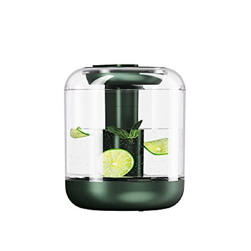 DLZP Huaguo Luftbefeuchter, 1 l Wassertank mit großer Kapazität, kann mit Huaguo gefüllt Werden, mit Nachtlicht, maximal 7 St&en Gebrauch eines winzigen Luftbefeuchters, geeignet für Zuhause, Büro