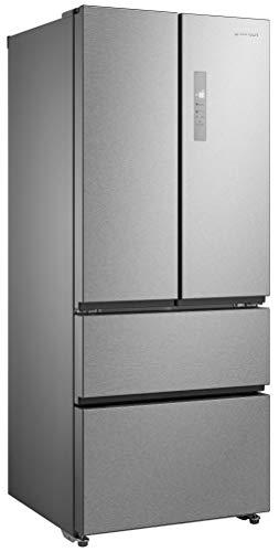 Getech - GEDTECH GFD396IX - Réfrigérateur Multiportes No-Frost - 396 L - Inox