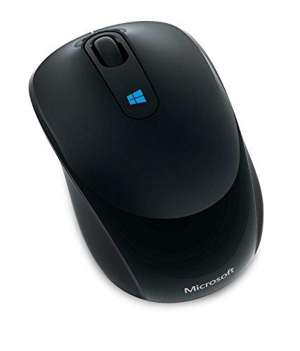 マイクロソフト マウス ワイヤレス/小型 ブラック Sculpt Mobile Mouse 43U-00037