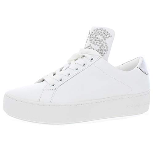 Michael Michael Kors Mindy Lace-Up Sneakers Size 11 Optical White