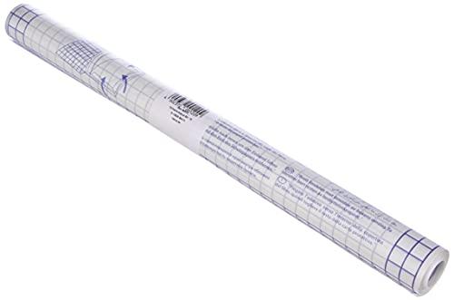 Idena 223035 - Bucheinschlagfolie, 5m x 40 cm, selbstklebend, transparent, 1 Rolle
