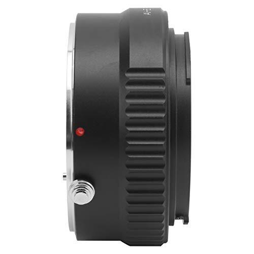 Zunate Adaptador de Lente, Anillo Adaptador de Montura de Lente AI-RF de aleación, para Montura AI/RF, para cámara para Canon EOS R/PR / R5 / R6, Compatible con Lente de Montura para Nikon AI