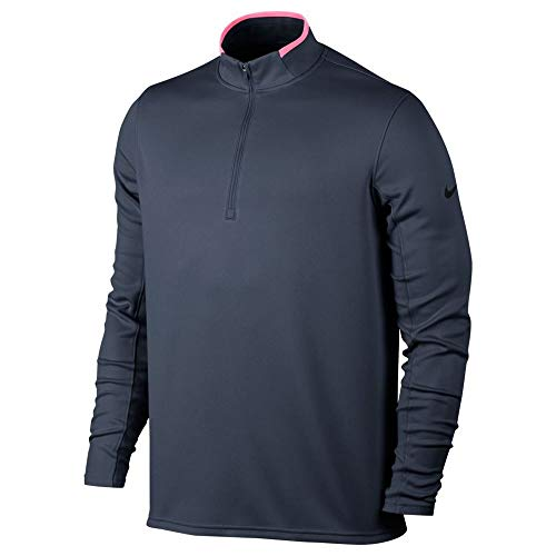 Nike Dry Half-Zip Men's Golf Top - Thunder Blue (Small)