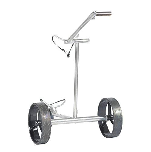 tour made Haicaddy® HC7 Travel PRO Edelstahl Lithium Elektro Golftrolley - 2