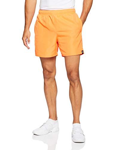 adidas Herren Solid Short Length Badehose, Hi-Res Orange, L