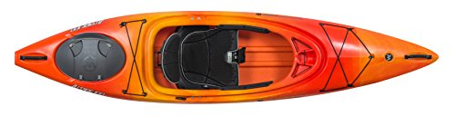 Wilderness Systems Aspire 100 | Sit Inside Recreational Kayak | Adjustable Skeg - Phase 3 Air Pro Seating | 10' | Mango