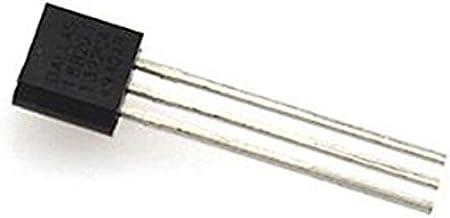 Cikuso 2PCS DS18B20 Sensor de Temperatura Termometro 18B20 TO-92