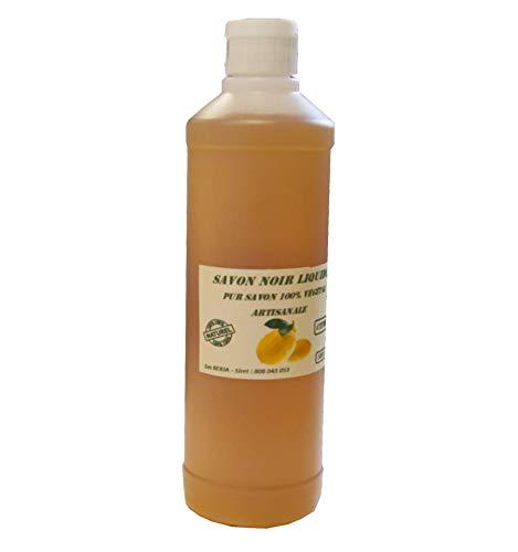 Savon noir Artisanal Naturel 3 parfums aux choix (Citron, 5 litres)