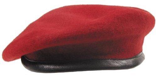 GR.5 commando casquette 56-62 rouge 62, noir