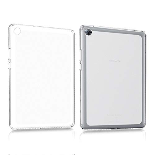 kwmobile Hülle kompatibel mit Huawei MediaPad M5 8 - Silikon Tablet Cover Hülle Schutzhülle Matt Transparent