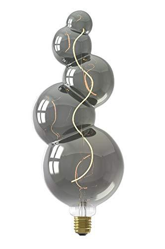Calex Alicante LED lamp 220-240V 4W 60lm E27, Titanium 2100K dimbaar