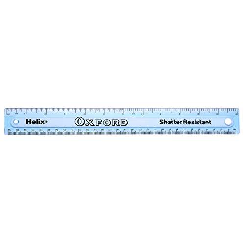 Helix Oxford 12 inch 30cm Shatter Resistant Ruler