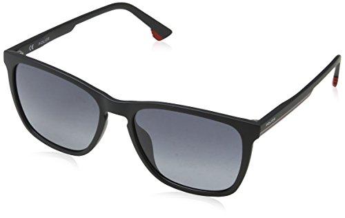 Police SPL573-U28P Gafas, negro, 55/17/145 Unisex Adulto