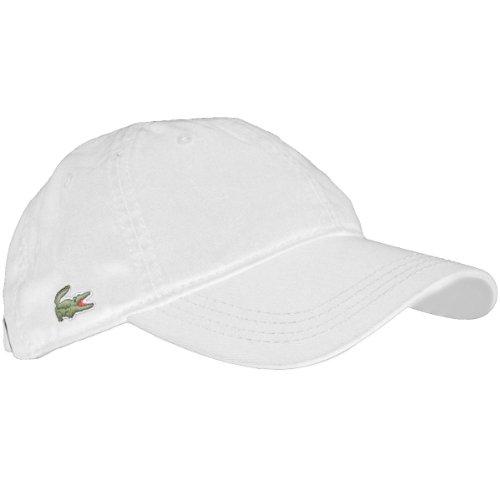 Lacoste Herren Rk9811 Baseball Cap, Weiß (Blanc), (Herstellergröße: One Size)