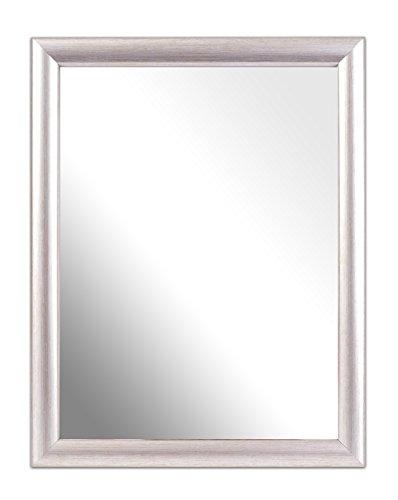 Inov8, Specchio con cornice, 2 pz., Argento, 25,4 x 20,3 cm