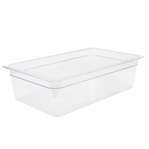 """Excellante 849851006966 Deep Polycarbonate Food Pan, 6"""", Full Size"""