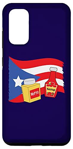 Galaxy S20 Puerto Rico Mayo and Ketchup Shirt Case