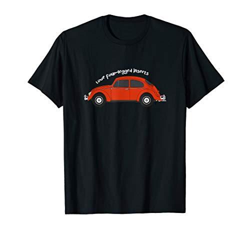 Kaefer Liebhaber Oldtimer Youngtimer Auto Schrauber T-Shirt