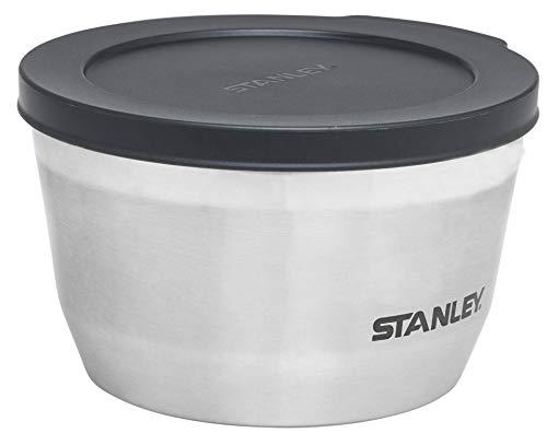 Stanley Adventure Vakuum-Schüssel 0.53 L, Stainless, 18/8 Edelstahl, abschließender Deckel, Stapelbar, Food Container Thermobehälter Speisebehälter