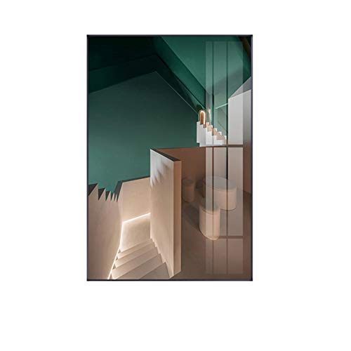 Wall Art Canvas Schilderij Moderne Structuur Industrieel Type Interieur Posters en Prints-50x70cm (19,7