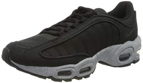 Nike Air MAX Tailwind IV SP, Zapatillas para Correr para Hombre, Black/Wolf Grey/Volt, 40 EU