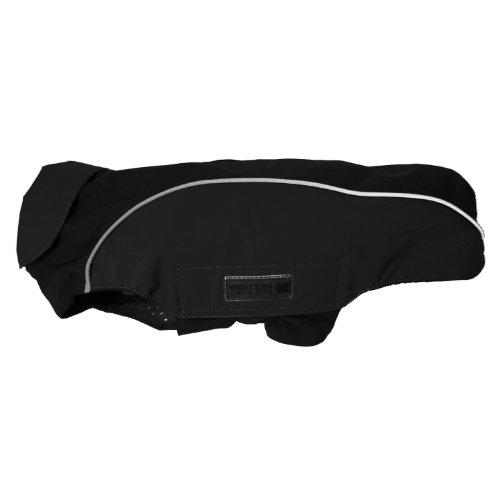 Wolters | Regenjacke Easy Rain für Mops&Co. schwarz/schwarz | Rückenlänge 38 cm