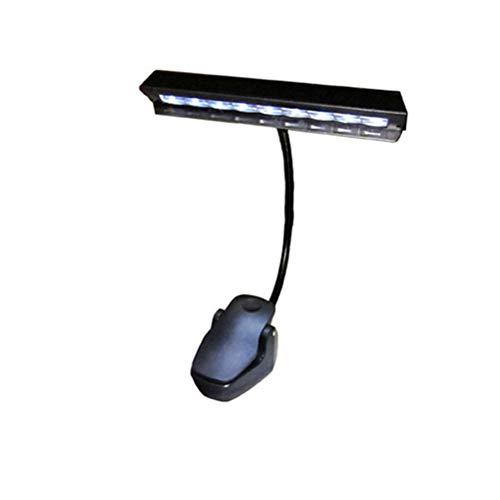 LED Clip Lampe Schreibtischlampe batteriebetrieben und USB wiederaufladbare Tischleuchte Rading Lampe (kein Ladegerät Cube, keine Batterie)