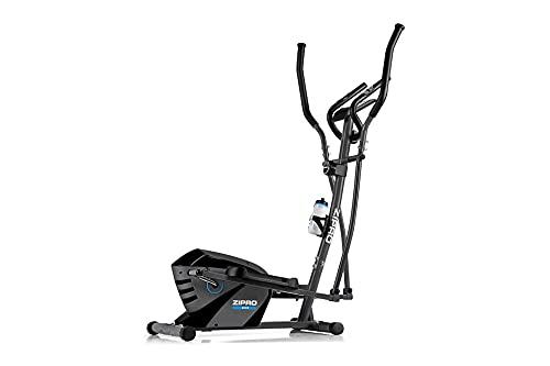 ZIPRO Bicicleta elíptica para Casa Shox, Entrenador eliptico, LCD Pantalla, sensores de Pulso, Ajuste de Resistencia, 120kg