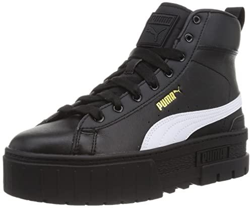 PUMA Damen Mayze Mid WN's Leichtathletik-Schuh, schwarz/weiß Dusky White, 37 EU thumbnail