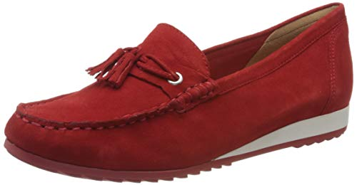 CAPRICE Damen INOXY Slipper, Rot, 40 EU