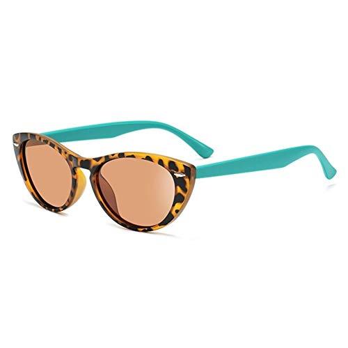 N\A Gafas de Sol de Moda Marco de la Vendimia 2020 Gafas de Sol del Ojo de Gato de Las Mujeres polarizadas Gafas de Sol Sombras de la Mujer (Lenses Color : C3 Brown)