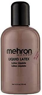 Mehron Makeup Liquid Latex (4.5 ounce) (Dark Flesh)