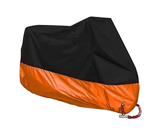 Motorcycle cover Ajuste para la cubierta de la motocicleta Toda la temporada cubierta de lluvia impermeable Protección UV al aire libre Moto Scooter Motorbike Rain Cover M L XL XXL XXXL XXXXL