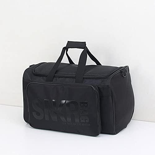 WT9 Mochila, Bolsa de Deporte Gym Travel Duffel Bag, con Divisor Bolsa de Almacenamiento para Zapatillas de Deporte Bolsa de Gimnasio Multifunción Portátil para Exteriores Ampliada,B
