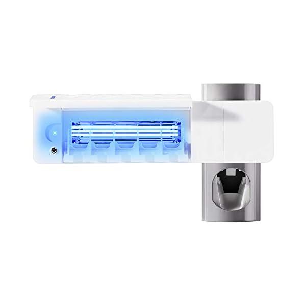 Dispensador Automático de Pasta de Dientes y Conjunto de Portacepillos