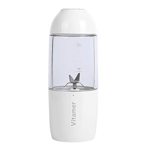 RENYAYA handmixer, blender met persoonlijke maat voor smoothies en milkshakes, 380 ml, handmixer met USB-oplading, citruspers, thuis, kantoor, sport, reizen en buiten
