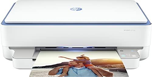 HP ENVY 6010e - Stampante multifunzione (HP+, stampante, scanner, fotocopiatrice, WLAN, Airprint), con inchiostro istantaneo di 6 mesi
