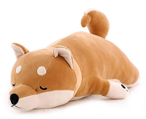 Fortuning's JDS Shiba Inu Hugging Pillow Plush Soft Children Sleeping Comfort Cushion Toy